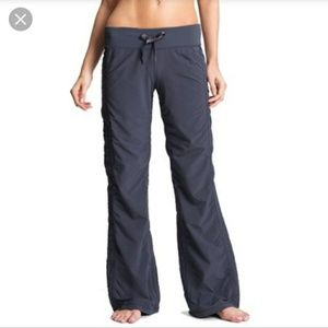 Zella Slate Pull up Ruched Pants
